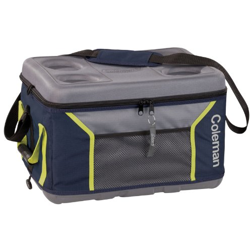 Coleman C002 Soft 45 Can Eva Molded Cooler, Navy