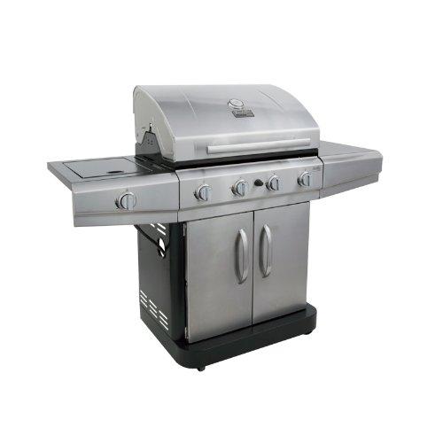 Char-Broil Classic 480 48000 BTU 4-Burner Gas Grill with Side Burner ...