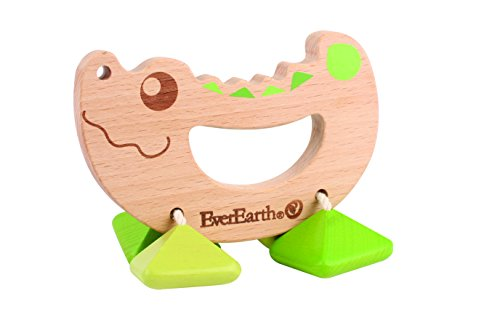 EverEarth Crocodile Rattle Toy EE33581