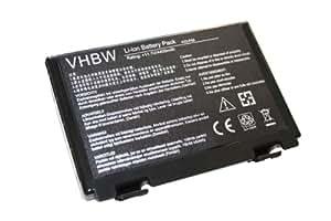 Batterie LI-ION 4400mAh 11.1V noire/black pour ASUS remplaçant A32-F52, A32-F82, L0690L6