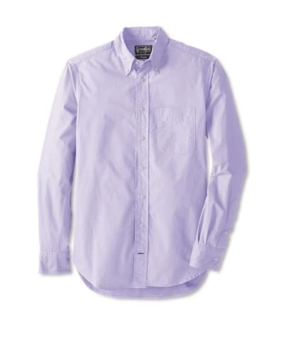 Gitman Vintage Men's Solid Broadcloth Button Down Shirt