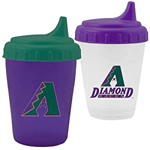MLB Arizona Diamondbacks 2-Pack Dripless Sippy Cup