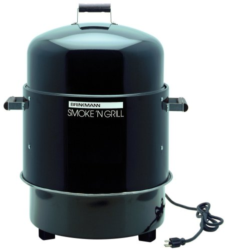 Big Save! Brinkmann 810-5290-4 Smoke'N Grill Electric Smoker and Grill, Black