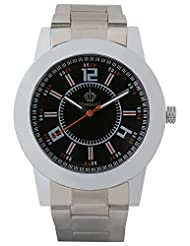 MARSHAL Men Silver Analogue Black Dial Men's Watch - (MRSL-MEN-007)