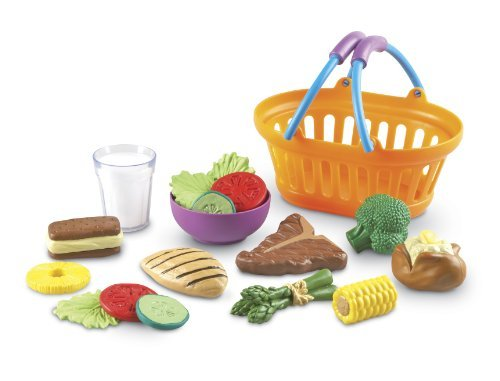 Learning Resources New Sprouts Dinner Basket Children, Kids, Game