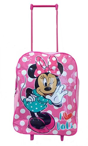 Disney Minnie Mouse-Borsa Trolley con rotelle