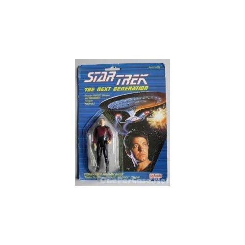 "Star Trek the Next Generation Commander William T. Riker 3.5"" Action Figure - 1"