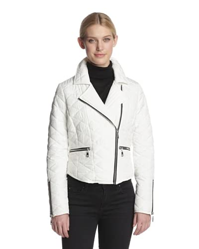 French Connection Women's Quilted Moto Jacket