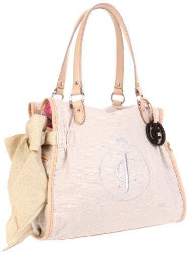 0f09e72db902fb and also read review customer opinions just before buy Juicy Couture Ms  Daydreamer YHRU2963 Tote Pale Linen One Size.