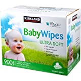 Kirkland Premium Baby Wipes - 900 Count