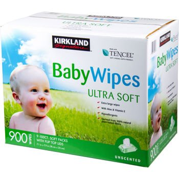 Similar product: Kirkland Premium Baby Wipes