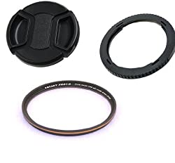 Fotasy SX50Kit Essential Accessory Kit for Canon PowerShot SX-50 SX-40 HS SX-30 IS SX-20 IS 67mm Adapter Pro1D MRC Filter and Lens Cap