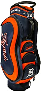 MLB Detroit Tigers Medalist Cart Golf Bag, Orange by Team Golf