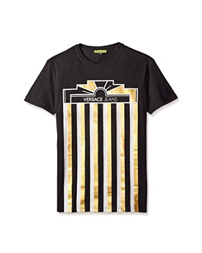 Versace Jeans Men's Metallic Logo T-Shirt