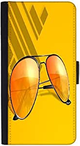 Snoogg Abstract Summer Backgrounddesigner Protective Flip Case Cover For Htc M8