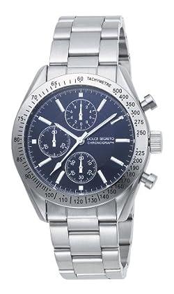 [ドルチェ セグレート]DOLCE SEGRETO 腕時計 SM101BK グランドクロノ メンズ