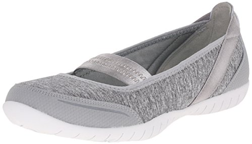 Skechers Atomic Magnetize Donna Sintetico Mary Janes, Gray, 41 EU