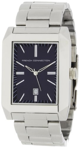 French Connection Men's FC1032U Stainless Steel Square Case Watch