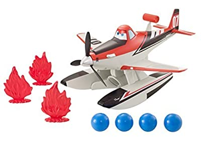 Disney Planes: Fire & Rescue Blastin Dusty Vehicle by Mattel