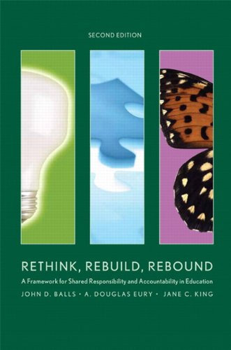 Rethink, Rebuild, Rebound: A Framework for Shared Responsibility and Accountability in Education