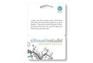 Silhouette Studio Designer Edition Software Card for Scrapbooking