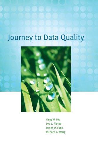 Journey to Data Quality