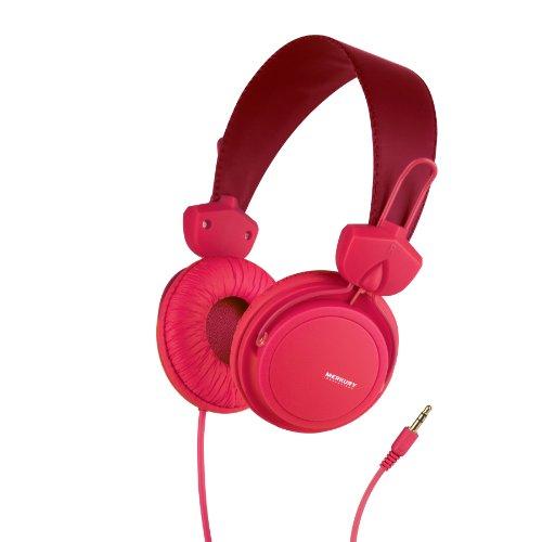 Merkury Innovations M-Hl1025 Edge Headphones - Red
