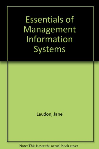Essentials of Management Information Systems: Organization & Technology in the Networked Enterprise : Multimedia