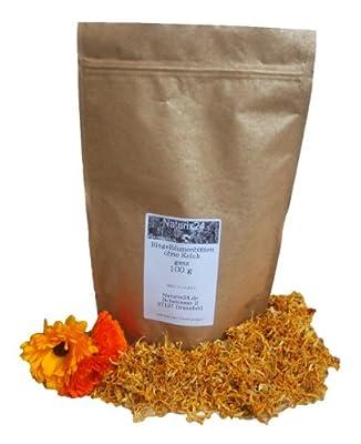 Naturix24 - Ringelblumenblüten ohne Kelch - 100g Beutel von Holger Senger Naturrohstoffe bei Gewürze Shop