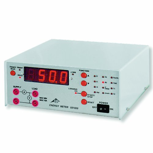 3B Scientific U21020-115 Power And Energy Meter With Pc Interface, 115V