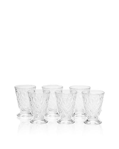 La Rochère Set of 6 Lyonnais Décor 7-Oz. Goblets As You See