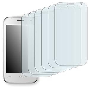 """6 x Golebo Displayschutzfolie für Mobistel Cynus F3 Displayschutz Schutzfolie Folie """"Crystal Clear"""" - Unsichtbar MADE IN GERMANY"""