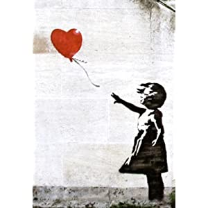Banksy Graffiti Balloon Girl Street Art Print Poster