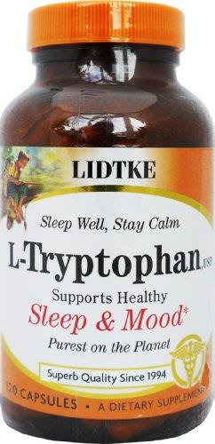 L-tryptophane Lidtke 120 Caps