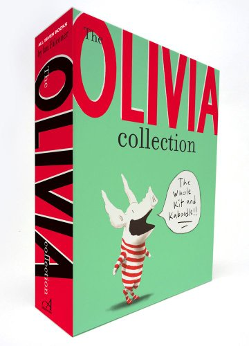 The Olivia Collection: Olivia; Olivia Saves the Circus; Olivia. and the Missing Toy; Olivia Forms a Band; Olivia Helps with Christmas; Olivia Goes to Venice; Olivia and the Fairy Princesses