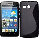 Azzil Back Cover for Huawei Ascend Y511 (Black)