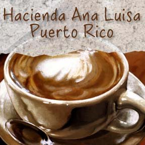 Amazon.com : Puerto Rico Hacienda Ana Luisa Shade Grown Coffee-Light
