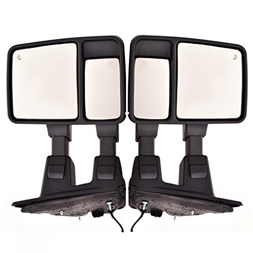 Why Should You Buy DEDC Pair Ford Super Duty Towing Power Side Mirrors Signal Heated For F250 F350 F...