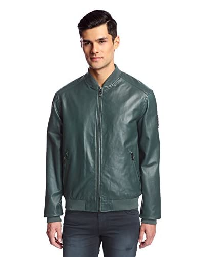 Versace Jeans Men's Leather Jacket
