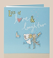 Love & Laughter Couple Card