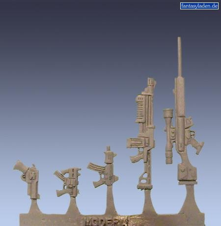 Wyrd Miniatures Modern Weapons Model Kit