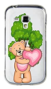 WOW Transparent Printed Back Cover Case For Samsung Galaxy S Duos 2 S7582