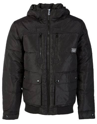 Jack & Jones Rider Jacket - Black - Mens - X-Large