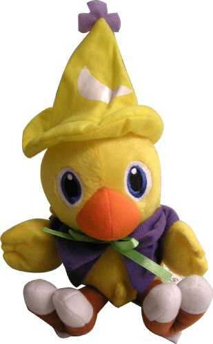 Square Enix Final Fantasy Chocobo 7″ Plush Black Mage Toy Doll New image
