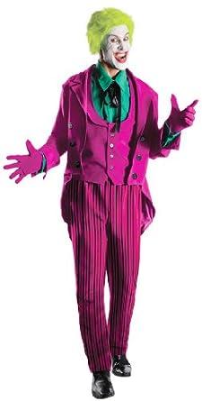Rubie's Costume Grand Heritage Joker Classic TV Batman Circa 1966, Purple/Green, X-large Costume