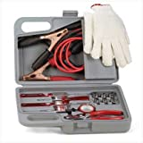 Auto Automobile Car Emergency Tool Kit Jumper Cables