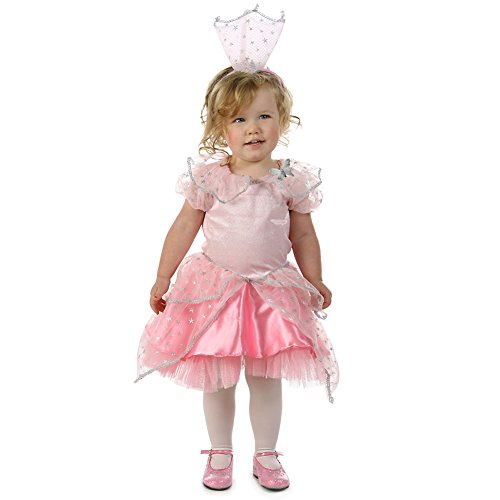 Baby Girls Pink Princess Glinda Sparkle Star Trim Halloween Costume 12M-2T