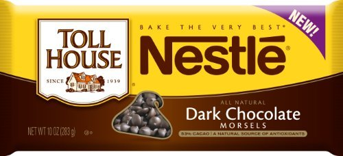 toll-house-dark-chocolate-morsels-10-ounce-pack-of-6-by-toll-house