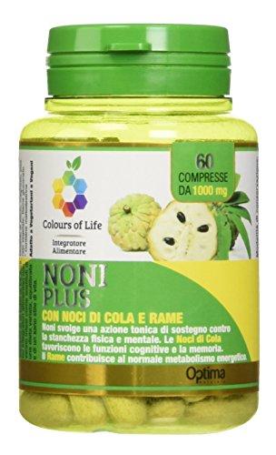 Colours Of Life Noni Plus, 60 Compresse 1000 Mg