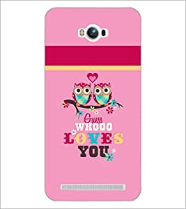 PrintDhaba Quote D-3517 Back Case Cover for ASUS ZENFONE MAX ZC550KL (2016) (Multi-Coloured)